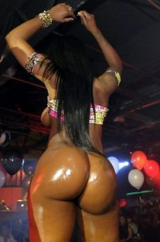 Fantastic ebony party..
