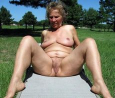 Chubby american granny naked..