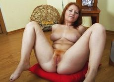 Older redhead with hairy..