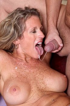 Amazing mature in a..
