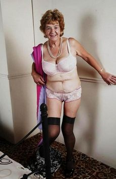 Sexy 60plus granny naked..