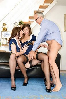 Threesome Porn Older..