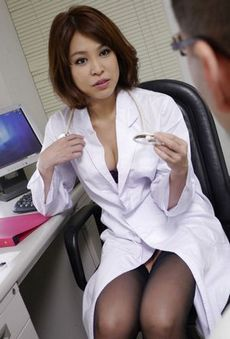 Hot Japanese nurse Erika..