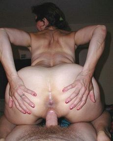 Passionate wife with a huge..