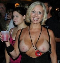 Gorgeous Blonde Party Milf..