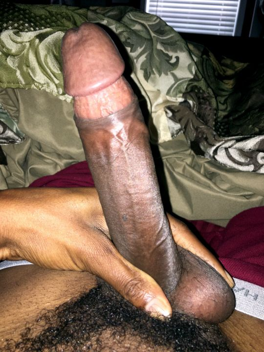 Long black dick and..